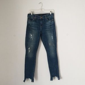 Lucky brand Ava skinny high rise size 6